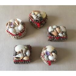 Coffret Bijoux Coquillages Assortis 5/6cm lot de 50