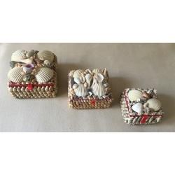 Jewelry box Medium square model 9x9cm lot of 12
