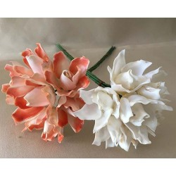Bouquet of 7 Flowers 40cm lot of 3