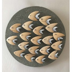 Decor Mural Fish Round 32cm 19