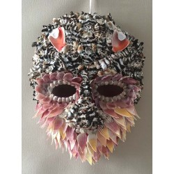 Masque Coquillages 24CM