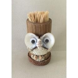 Porte cure dent Bambou 8cm