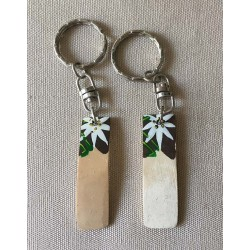 """0989 KEY RING """"EDELWEISS"""" personnalisable per 96"""