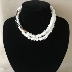 2386 WHITE HEISCHI NECKLACE 45cm per 12