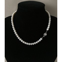 2700 NECKLACE 45cm WATER PEARL 7mm per 3
