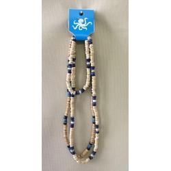 Parure Collier Bracelet Bois lot de 24