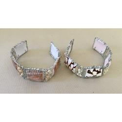 Bracelet Décor Cônes Assortis lot de 12
