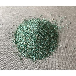 Green tinted sand by 2kg