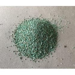 Sable teinté vert par 2kg