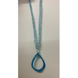 Collier multirang mini perles & anneau assortis par 12