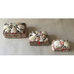 Medium Rectangle Jewelry Box 9x11cm lot of 12