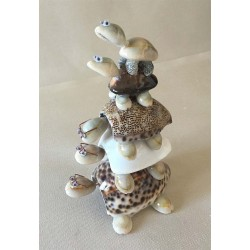 Turtles Stacked Heads - Mobile Tails lot of 12